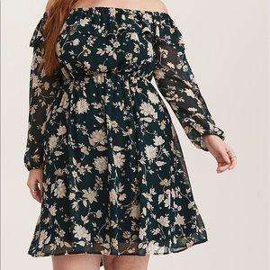 Chiffon Floral Dress